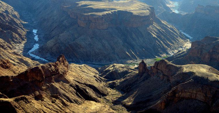 Fish River Canyon Ultra en Namibie - Istock