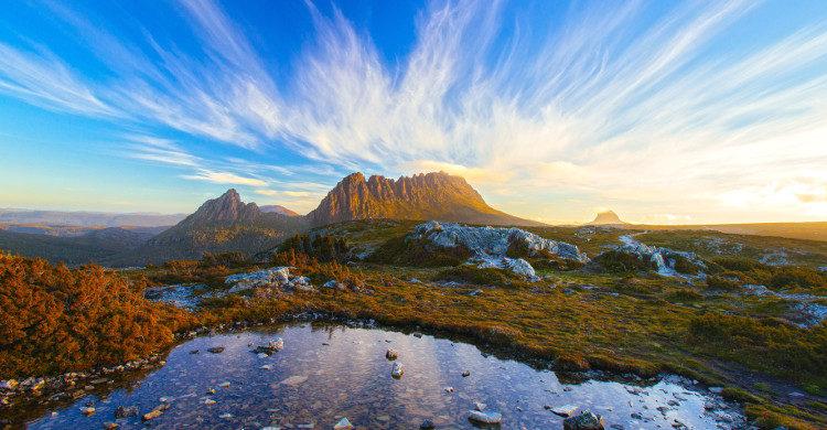 Cradle Mountain en Tasmanie - Istock