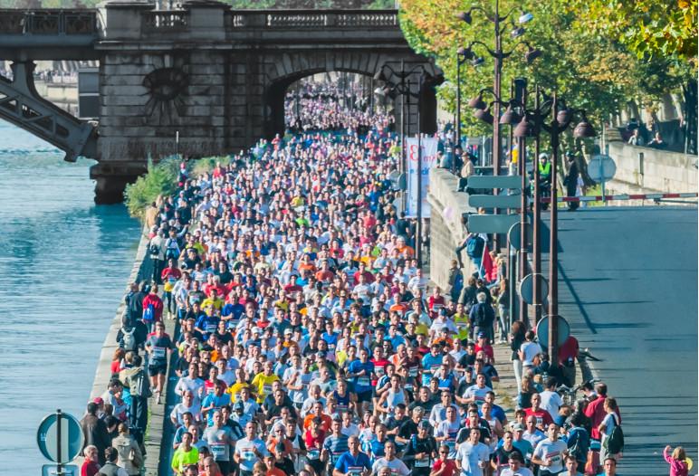 marathon paris 2 - Istock