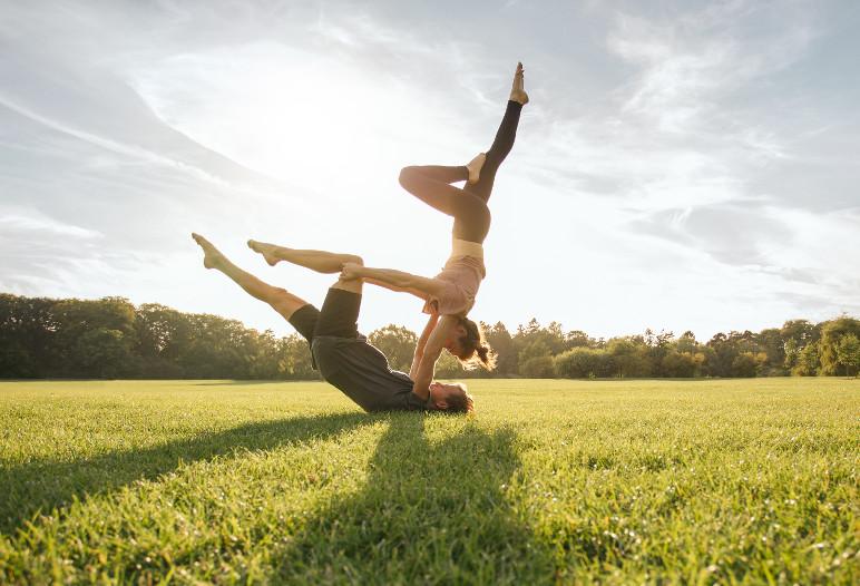 yoga challenge - IStock