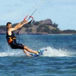 Nicolas Hulot, le ministre est aussi un pro de kitesurf