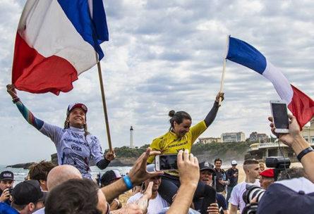 Victoire des Françaises - Instagram @RiBLANC