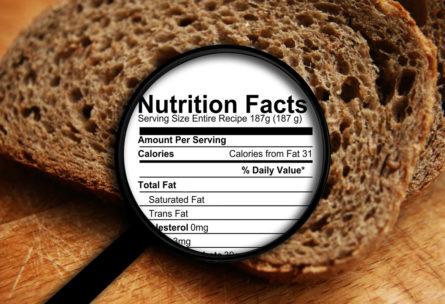 étiquettes nutritionnelles (Istock)