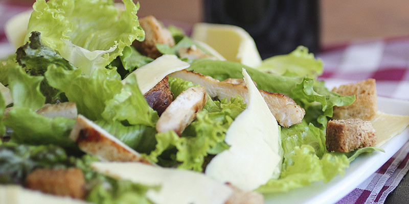 Salade césar (Unsplash)
