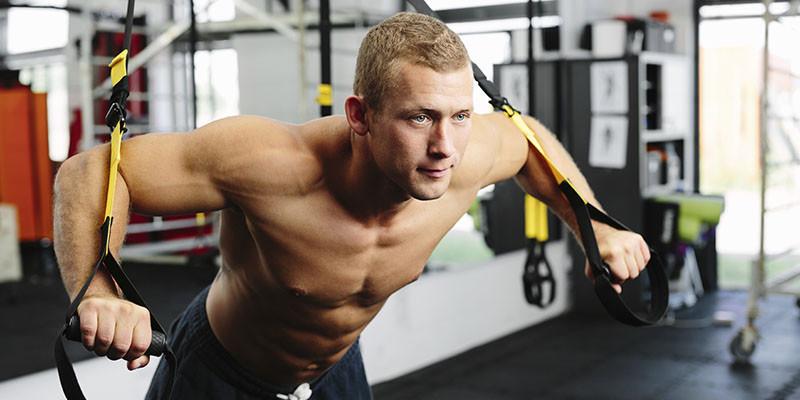 TRX dans une salle de sport (iStock)