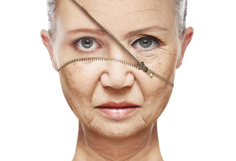 Yoga facial (iStock)