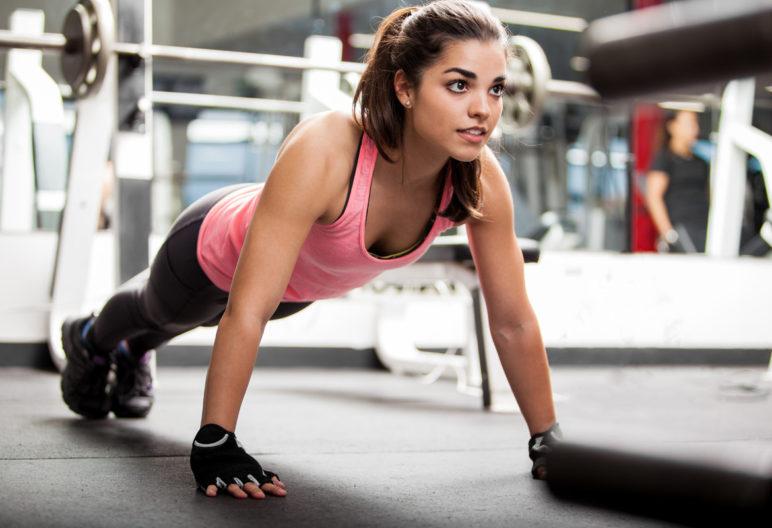 exercices poitrines (Istock)