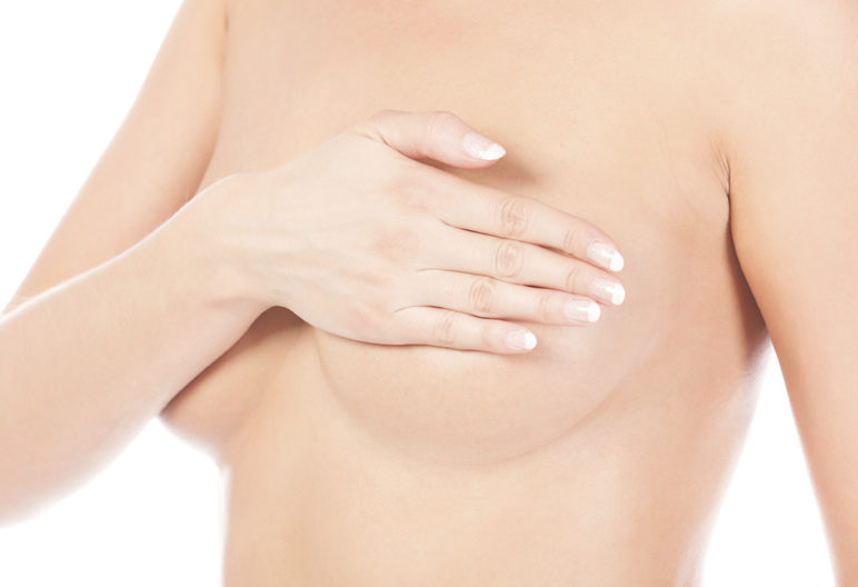aire une autopalpation des seins (iStock)